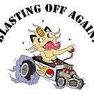 Blasting Off Again by emo-seal
