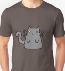 Curly Whiskers Kitty T-Shirt