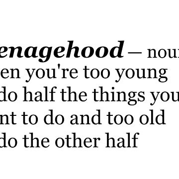Teenagehood by loreendb