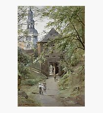 Mulln Monastery in Augustiner Braustubl (Salzburg) by Edward Theodore Compton Photographic Print