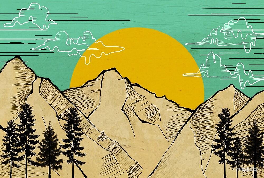 Mountains by misskatz