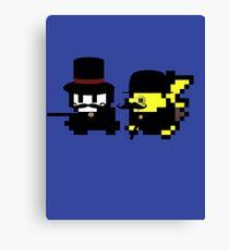 Pokemon Gentlemen Canvas Print