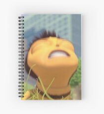 Honey NUT Cheerios, Barry Benson - Bee Movie Meme Spiral Notebook