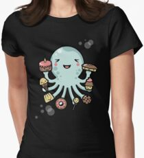 Room for Dessert? Womens Fitted T-Shirt