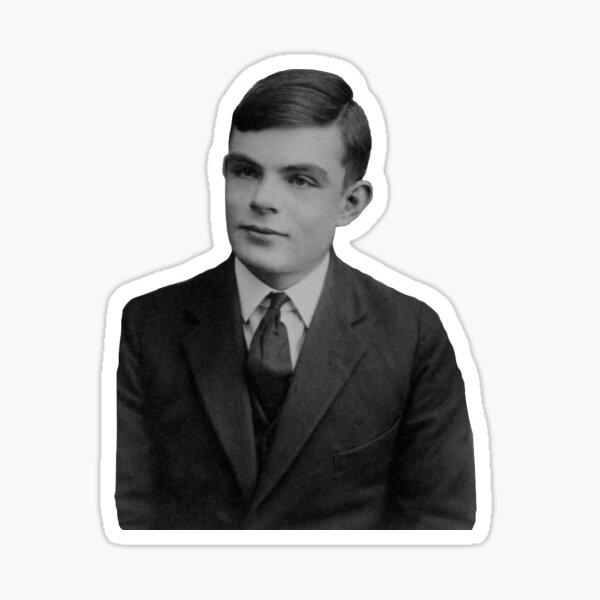 Alan Turing Sticker