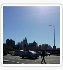 Blue Sky City Sticker