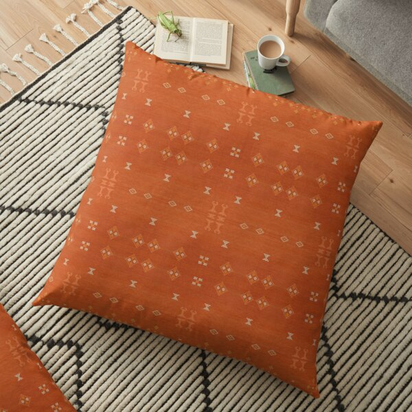 Boho Oriental Heritage Traditional Berber Moroccan Style Floor Pillow