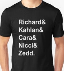 Legend Of The Seeker Characters Unisex T-Shirt