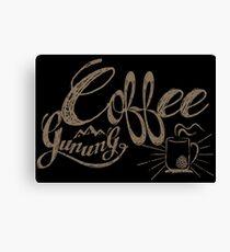 coffee gunung Canvas Print