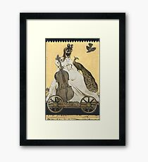 Magic Masquerade Train - Charlotte & her Cello Framed Print