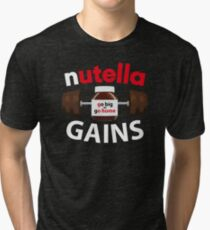 Nutella Gains Tri-blend T-Shirt
