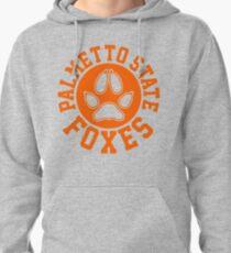 palmetto state circle crest orange Pullover Hoodie