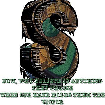 Coheed and Cambria- The Hard Sell lyrics Design by BigBandBusiness