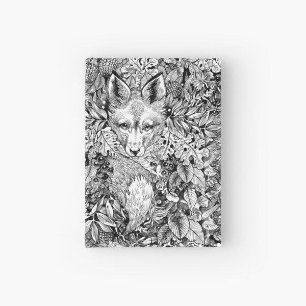 Hiding fox Hardcover Journal