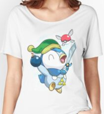 Pokemon Link Piplup Women's Relaxed Fit T-Shirt
