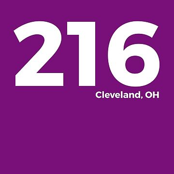 Cleveland, Ohio Area Code 216 by AlwaysAwesome