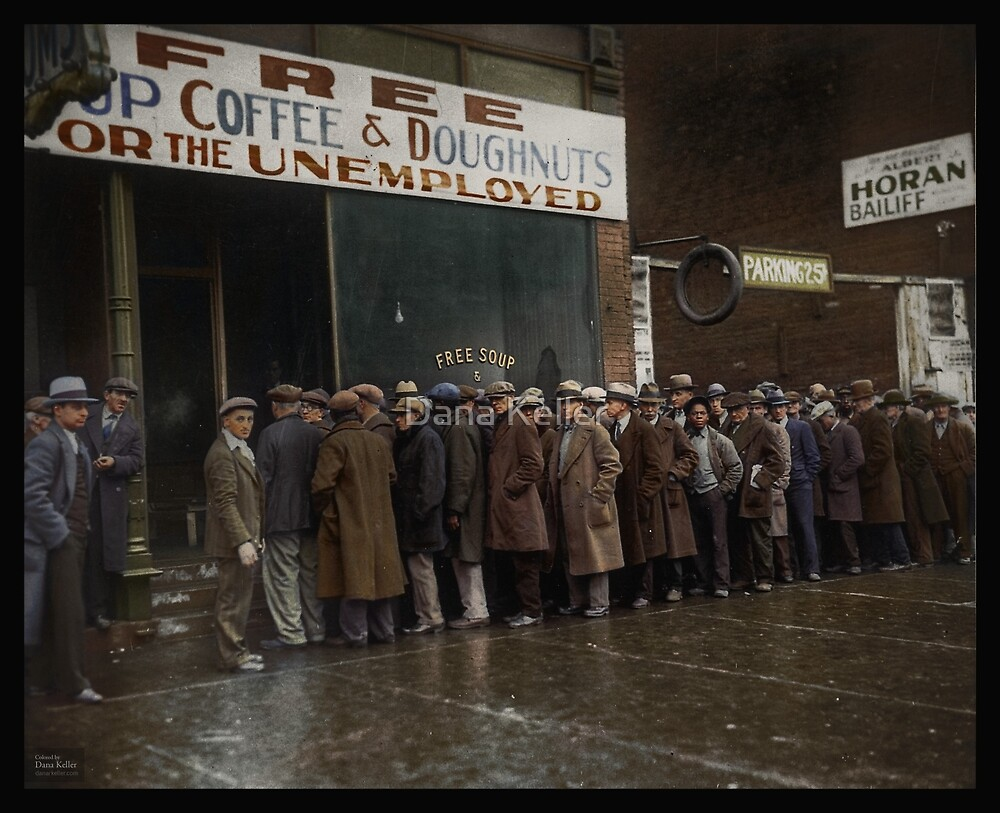 Al capone s soup kitchen chicago 1931 by dana keller for Kitchen chicago