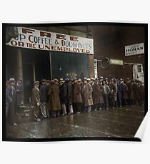 Al Capone's Soup Kitchen, Chicago, 1931 Poster