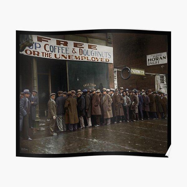 Al Capone's Soup Kitchen, Chicago, 1931 Poster