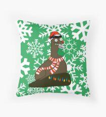 Gerald Christmas - Snowflakes Throw Pillow