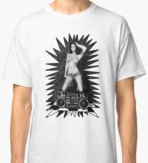 Boombox Girl Classic T-Shirt