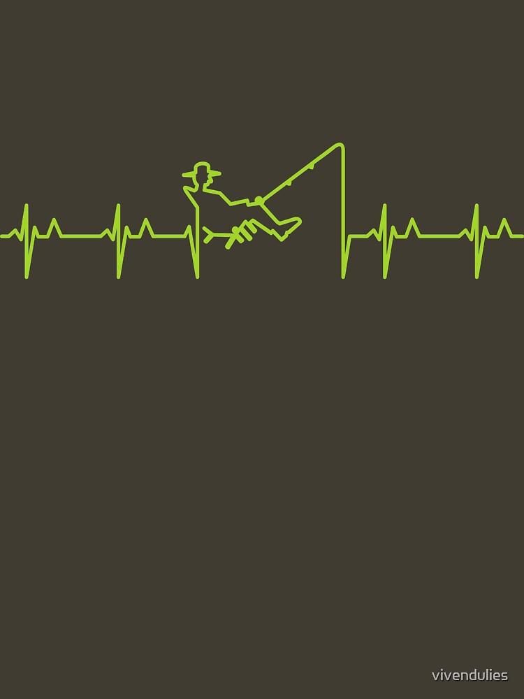 My heart beats for fishing (green) VRS2 by vivendulies