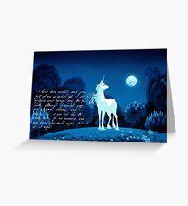 The Last Unicorn 2.0 Greeting Card
