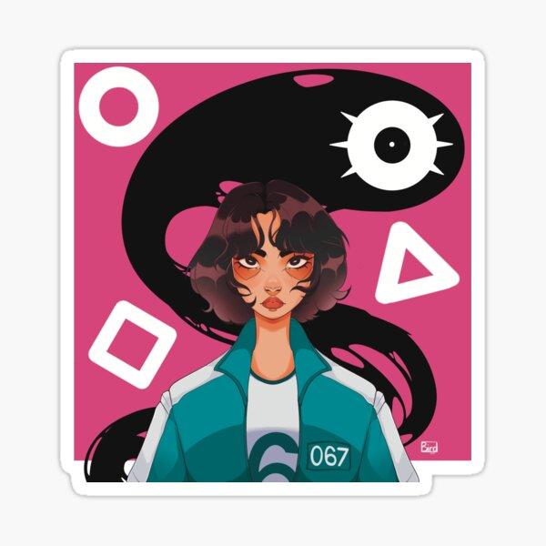 Squid Games Sticker