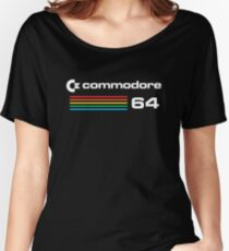 Women's Relaxed Fit C64 T-shirt in 7 Colors