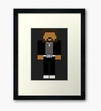 The Weeknd - Minecraft Framed Print