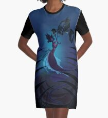 DeepSea Graphic T-Shirt Dress