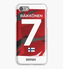 Kimi Raikonnen 7 iPhone Case/Skin
