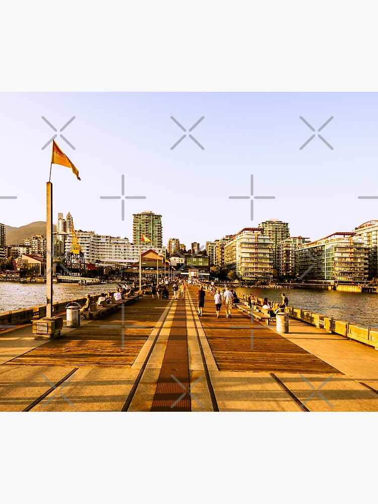 0103 Burrard Dry Dock Pier The Shipyards Lonsdale Quay North Vancouver Hotel Art Home Decor Photo by neptuneimages