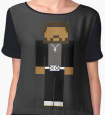 The Weeknd - Minecraft Chiffon Top