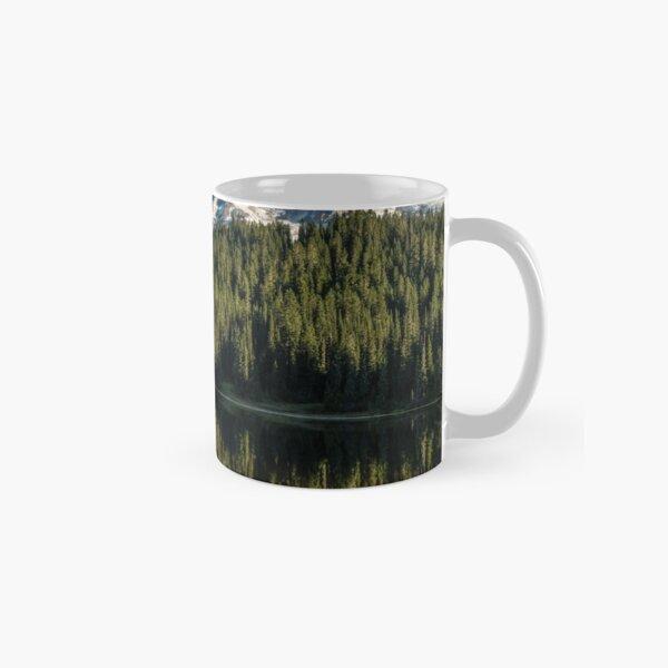 Mount Rainier and Reflection Lake Classic Mug