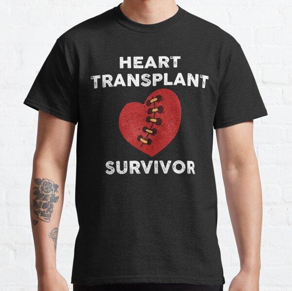 Sobreviviente de trasplante de corazón vintage Camiseta clásica