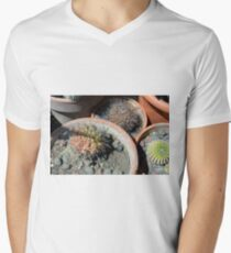 Cacti in flower pots T-Shirt