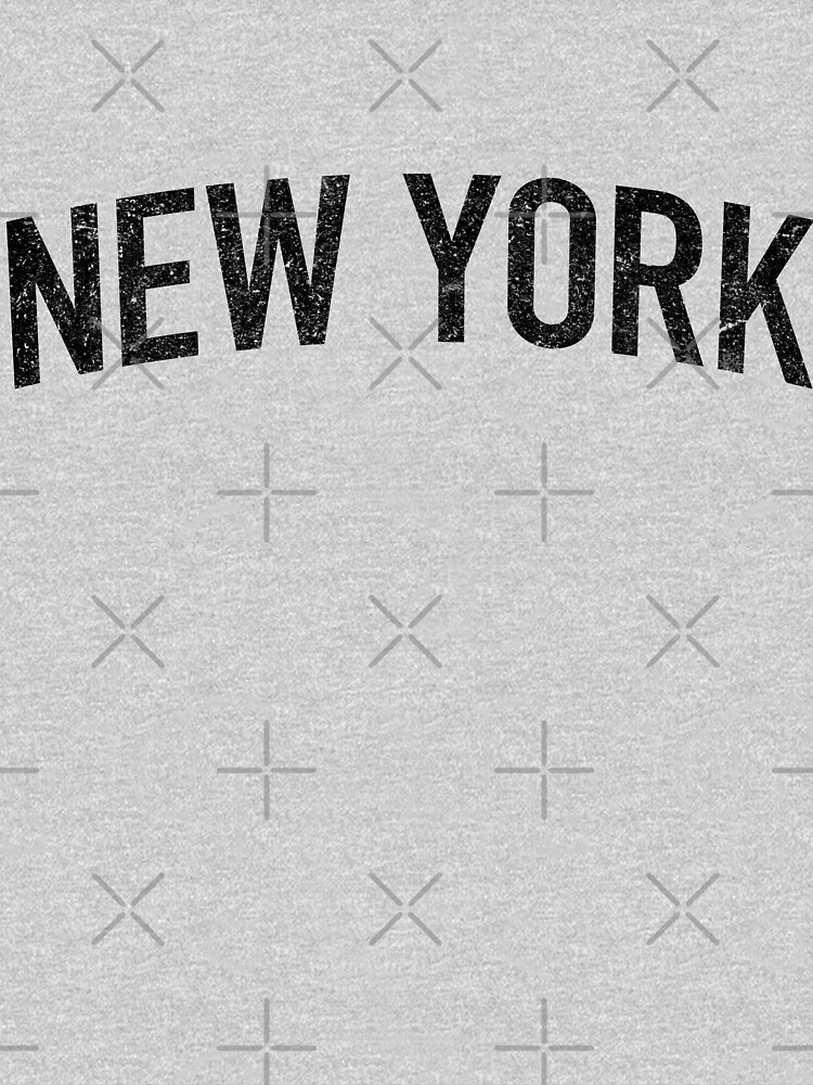 Classic New York Tee by typeo