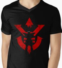 Vegeta Royal Saiyan Symbol Men's V-Neck T-Shirt