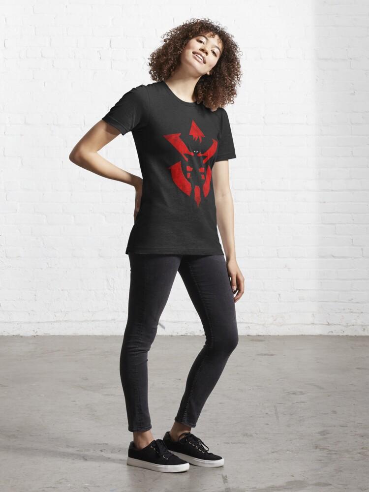 Alternate view of Vegeta Royal Saiyan Symbol Essential T-Shirt