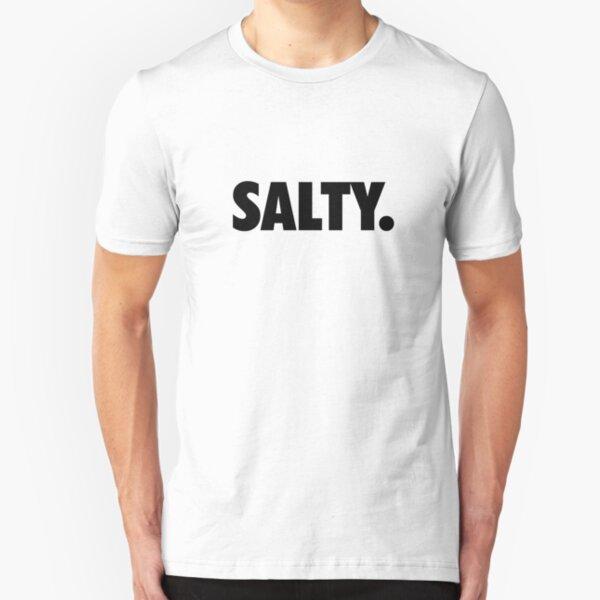 Salty. Slim Fit T-Shirt