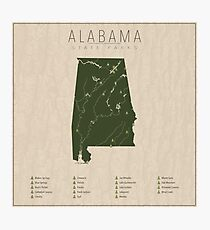 Alabama Parks Photographic Print