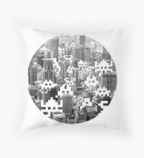 Space Invaders! Throw Pillow