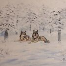 Winter Wolves by Ria Spencer