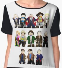 Doctor Who - Toy Doctors Chiffon Top