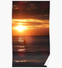 Sunrise Standup Paddle Poster