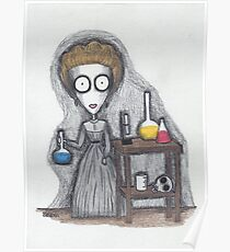 madame curie Poster