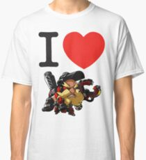 I Heart Torbjorn Cute Spray Classic T-Shirt