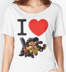 I Heart Torbjorn Cute Spray Women's Relaxed Fit T-Shirt
