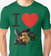 I Heart Torbjorn Cute Spray Unisex T-Shirt